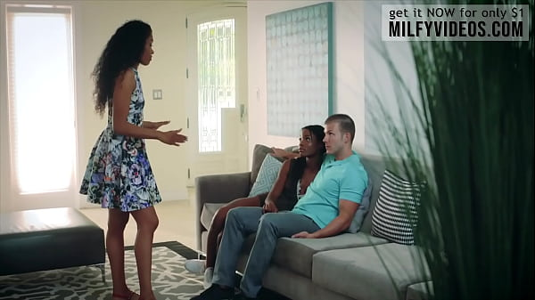 Mya Mays and her lover got lessons from her ste...