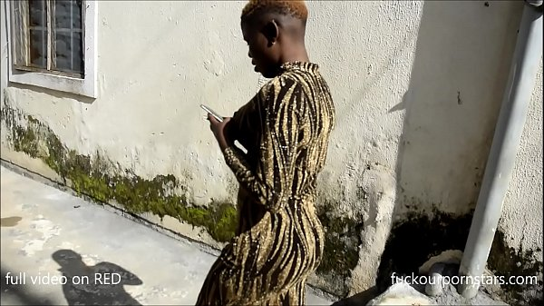 Diamond raw fucks African queen Joy as she visi...
