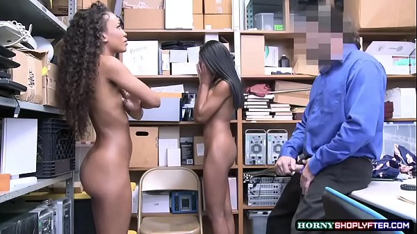Officer destroys two shoplifter ebonys pussy Thumb