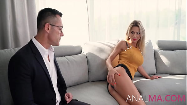 The Anal Debt Collection From MILF - Shalina De...