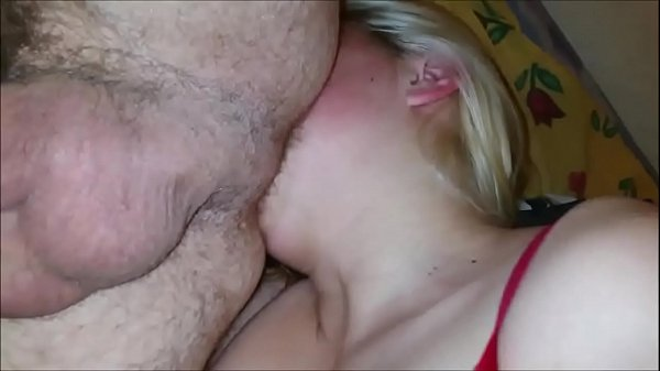 Chubby Blonde Girl Loves Giving Rimjobs