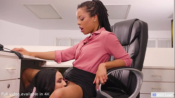 GIRLSWAY - Stripper Wants Her Money... Or Pussy - Kira Noir and Jade Baker