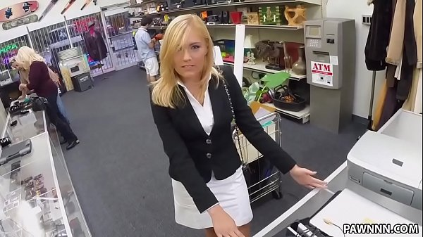Blonde MILF Banged in the PawnShop - XXX Pawn Thumb