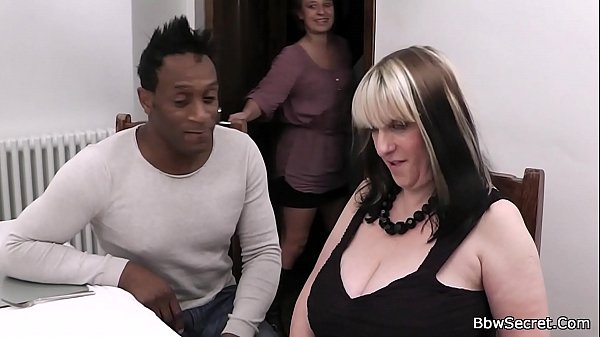 Black husband caught fucking huge tits woman