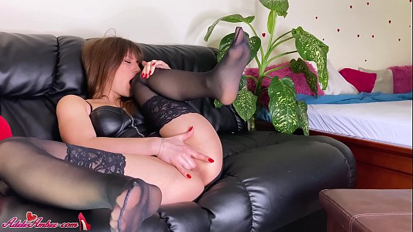 Sexy Girl Demonstrate Feet and Masturbate Pussy - Foot Fetish