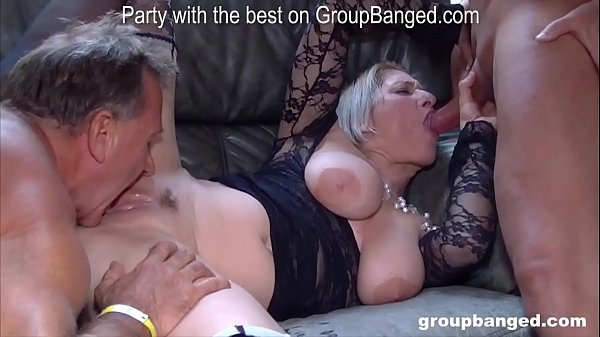 More gangbang action with Teresa the horniest m...