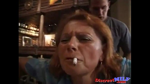 MILF Get Fucked By A Younger Customer