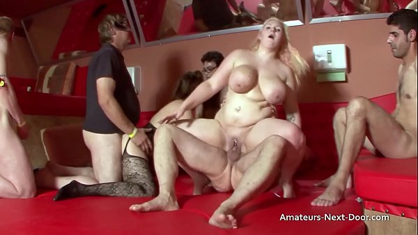 Group sex with 2 overweight housewives Thumb