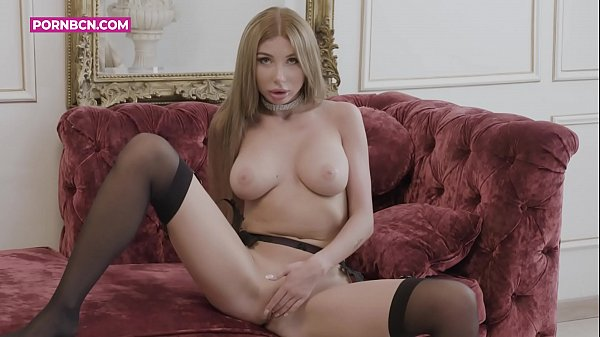 JUST GIRLS 4K A rich and blonde Russian model masturbating in her luxurious living room while filming her, she gets horny knowing that they are watching her. Marilyn Crystal beauty and glamor in one horny woman Thumb