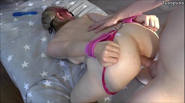 Anal and double penetration for tight girlfriend