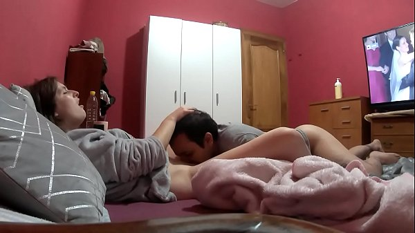 I eat my pussy I fuck my mouth cock fat and hard puts me doggy style I can not stand and cums on my top