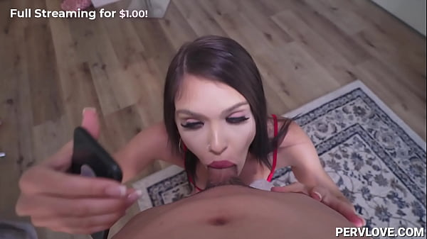 Slut Sister Puts Jealous to Her BF with her Stepbrother - Selina Moon Thumb