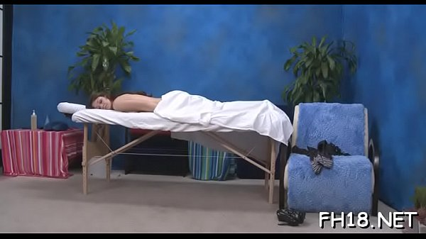 Hot 18 year old brunette hair floozy gets fucked hard by her massage therapist!
