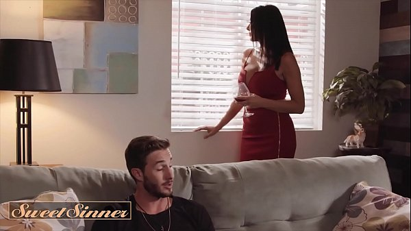 (Lucas Frost) Screw His Best Friends Mom (Reagan Foxx) On Couch Cums On Her Body - SweetSinner Thumb