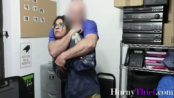 Brunette Busty Teen Fucks Old Officer- Vienna Black