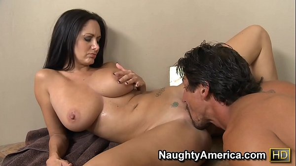 Naughty America Ava Addams fucking in the pool with her tattoos Thumb