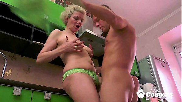 Mature Mom Madlen Drains A Much y. Cock Thumb