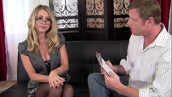 Cute amateur blonde will do anything to pay her...