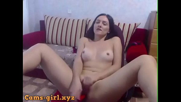 Sitting in the chair by the camera fouled red dildo[cams-girl.xyz]