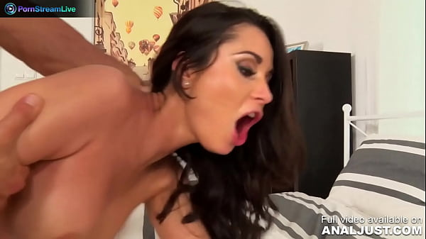 Only3x (Just Anal) brings you - Just Anal presents - Glamorous Aurelly Rebel Drinks Wine and Have Sex