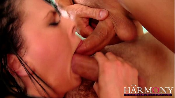 Harmony Vision Dirty slut loves a dp in a gangbang