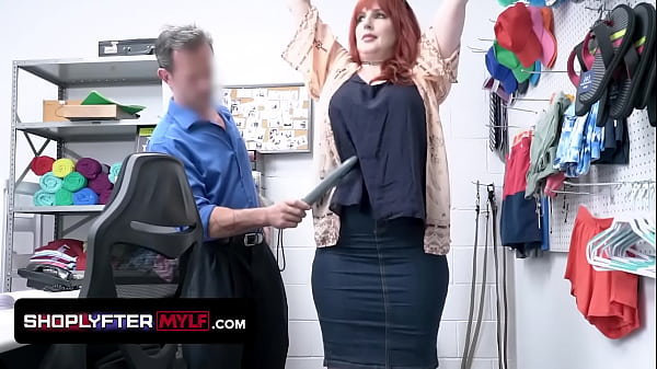 Perfect Redhead Amber Dawn Gets Suspected In Stealing And Recievec A Cavity Search