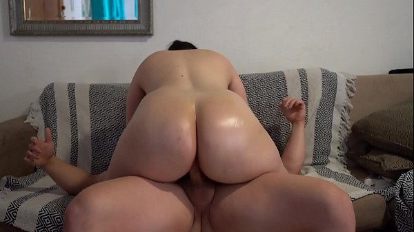 Big Butt Pawg with Oiled up Ass and Fuck Assjob Cum Thumb