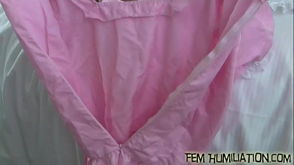 Put on these pink panties and bra