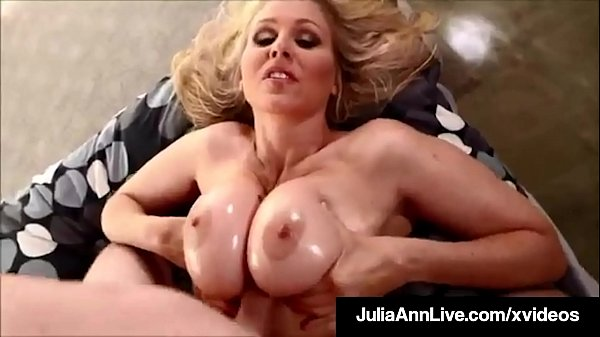 Big Booby Bang! Mommy Julia Ann Gets Nut Of Man Milk On Tits