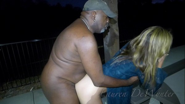 Lauren DeWynter - naked at the park Thumb