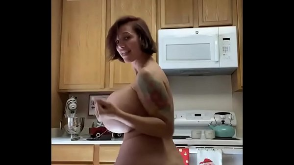 Brittany Elizabeth in the kitchen dancing naked Thumb