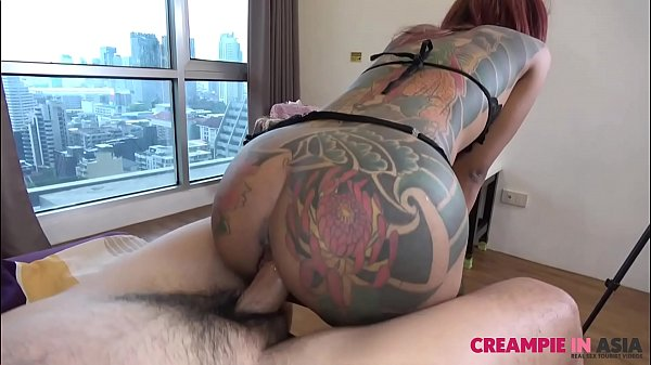 Small horny Thai girl fucked hard by Japanese guy