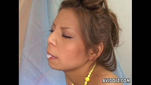 Sexy Kenny Kawai blowjob with lots of spit