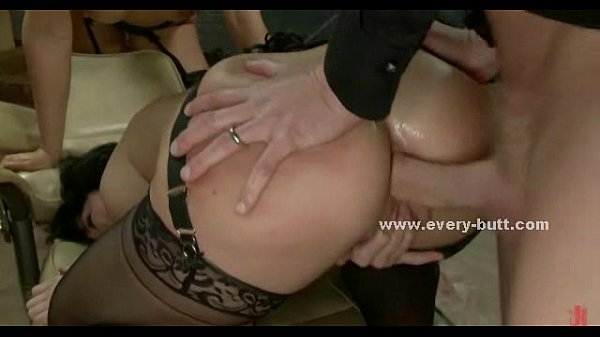 Amazing round asses anal sex threesome Thumb
