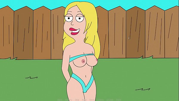 Francine Smith Sunbathing Nude. American Dad