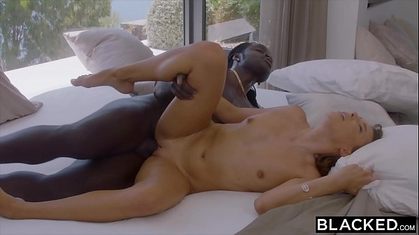 BLACKED Shy Talia seduces her longtime crush on...