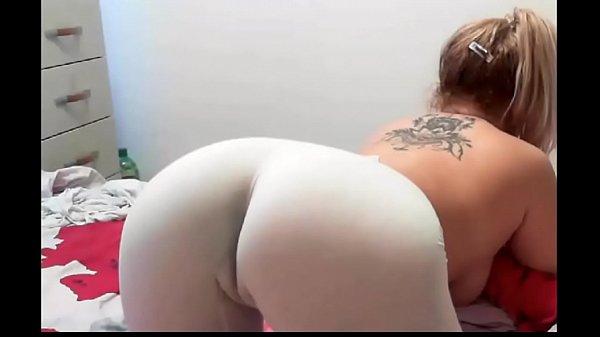 Nice German Cameltoe in Tight white jeans