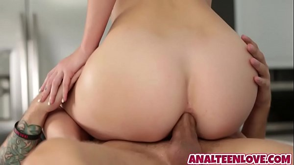 Teen grill Arya Faye is rammed in her asshole by neighbor