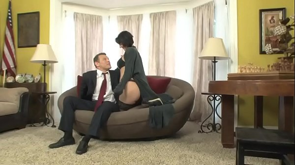 Roxanne is blackmailed by her boss's son who fucks her in the office