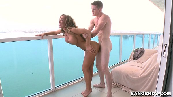 Great Balcony Fuck with MILF Thumb