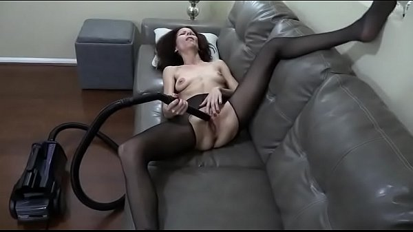 Slut Likes the vacuum cleaner