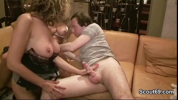 German Mom Caught Fucking with Young boy and st...