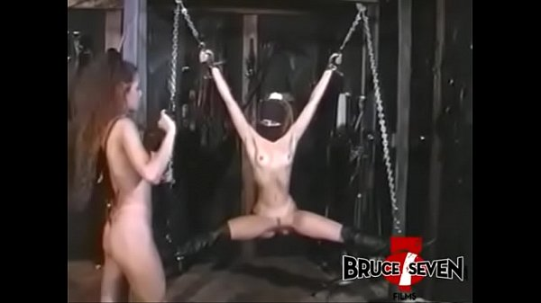 BRUCE SEVEN - Felicia Dominates Kelly Savage In Dungeon Thumb