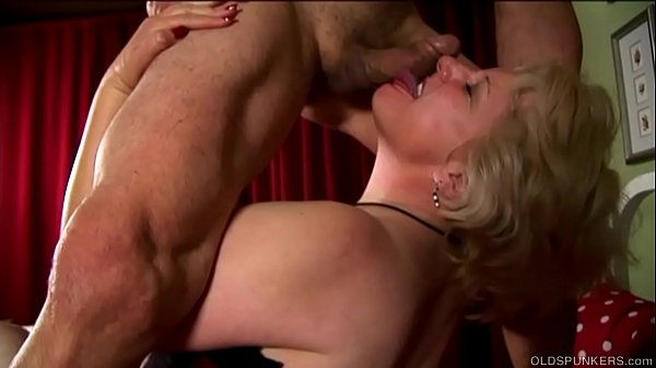 Buxom old blonde spunker is a super hot fuck & ...