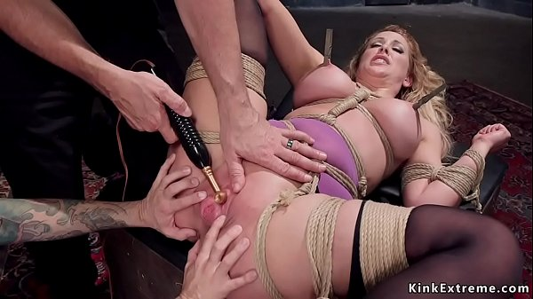 Busty Milf trainee is rough banged
