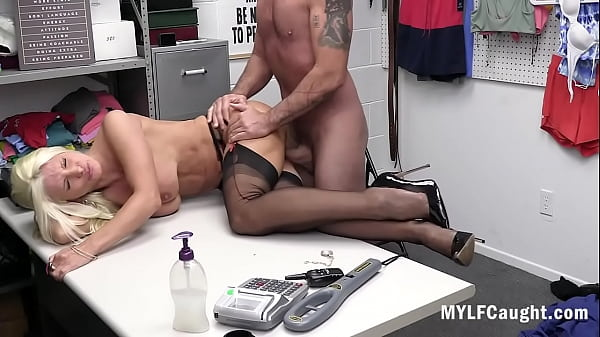 Busty Shop Lifter MILF Caught And Punished By Thirsty Cop- Brittany Andrews