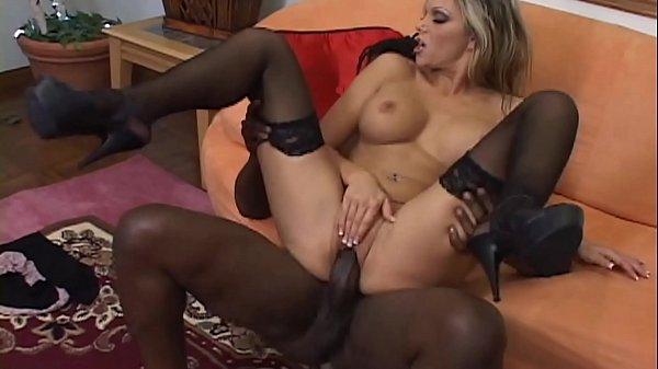 Hot Mature MILF rides the Big Black Cock BBC to...