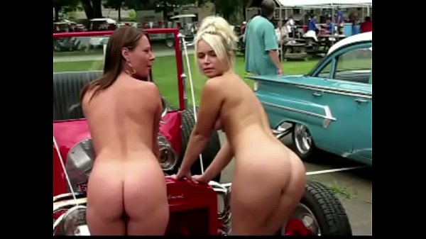 Naked at the Car Show