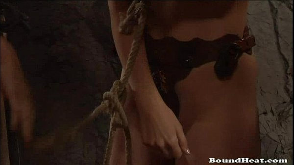 Slave tradition ceremony for slave girls to get wet
