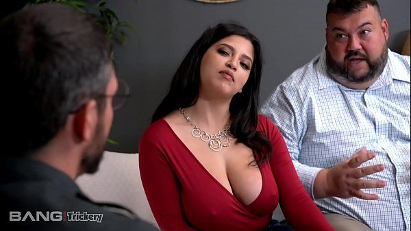 Trickery - Busty Babe Fucks Counselor While Fiance Watches Thumb